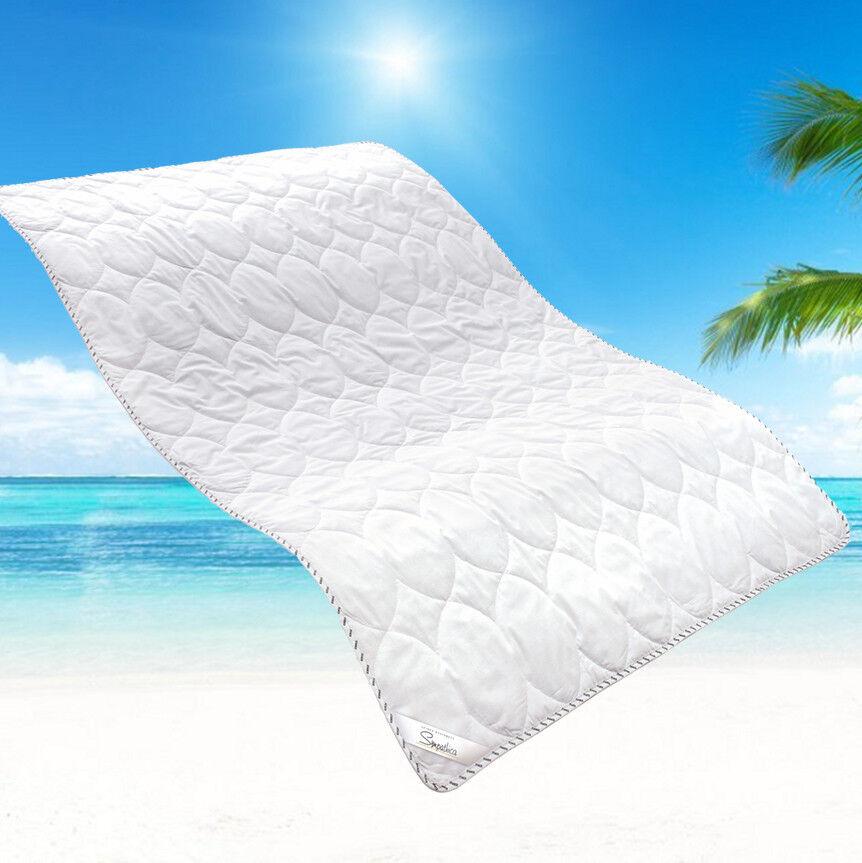 Allergiker Leinen Sommer Bettdecke Sommerbett Sommerdecke 155x220 cm 60° Wäsche