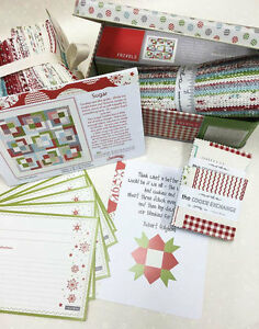 FRIVOLS 10~THE COOKIE EXCHANGE~MODA FABRIC~QUILT KIT~CHRISTMAS~SWEETWATER