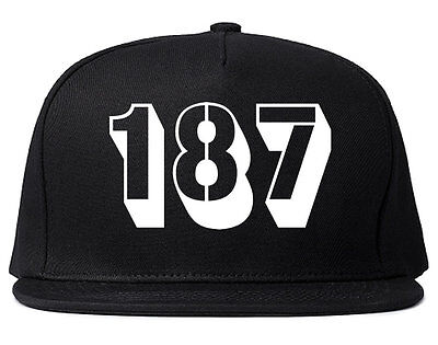 Kings of NY 187 Snapback Hat Adjustable 100/% Cotton Cap Black Red Blue Grey