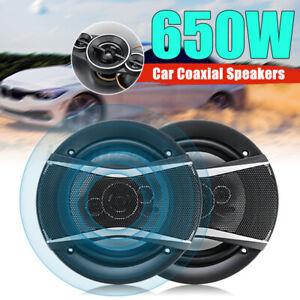 1 Pair TS-A1696S 6'' Inch 650W 4-Way Car HiFi Coaxial Speaker Vehicle Door  ♖ j