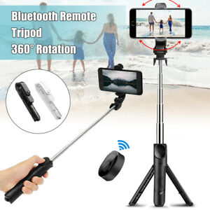 Extensible Selfie Stick Palo Trípode bluetooth Control Para iPhone Android