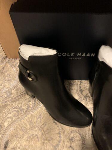 stijl 9 maat Haan Bailey W14558 Cole lederen damesbootieszwart Nieuwe XkO8n0wP