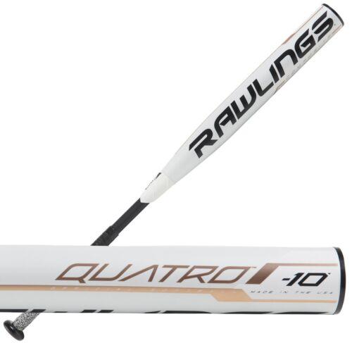 "2019 Rawlings Quatro 10 32/""//22 oz Women/'s Fastpitch Softball Bat FP9Q10"