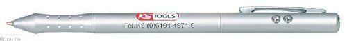 puntatore LASER e pennino palmare lampada LED Penna KS TOOLS 4 in 1 penna