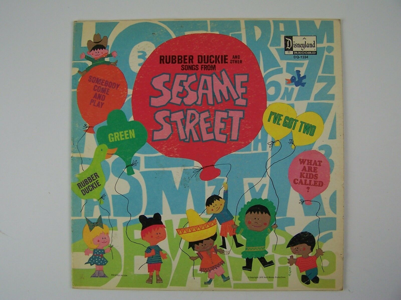 Sesame Street - Rubber Duckie And Other Songs From Sesa