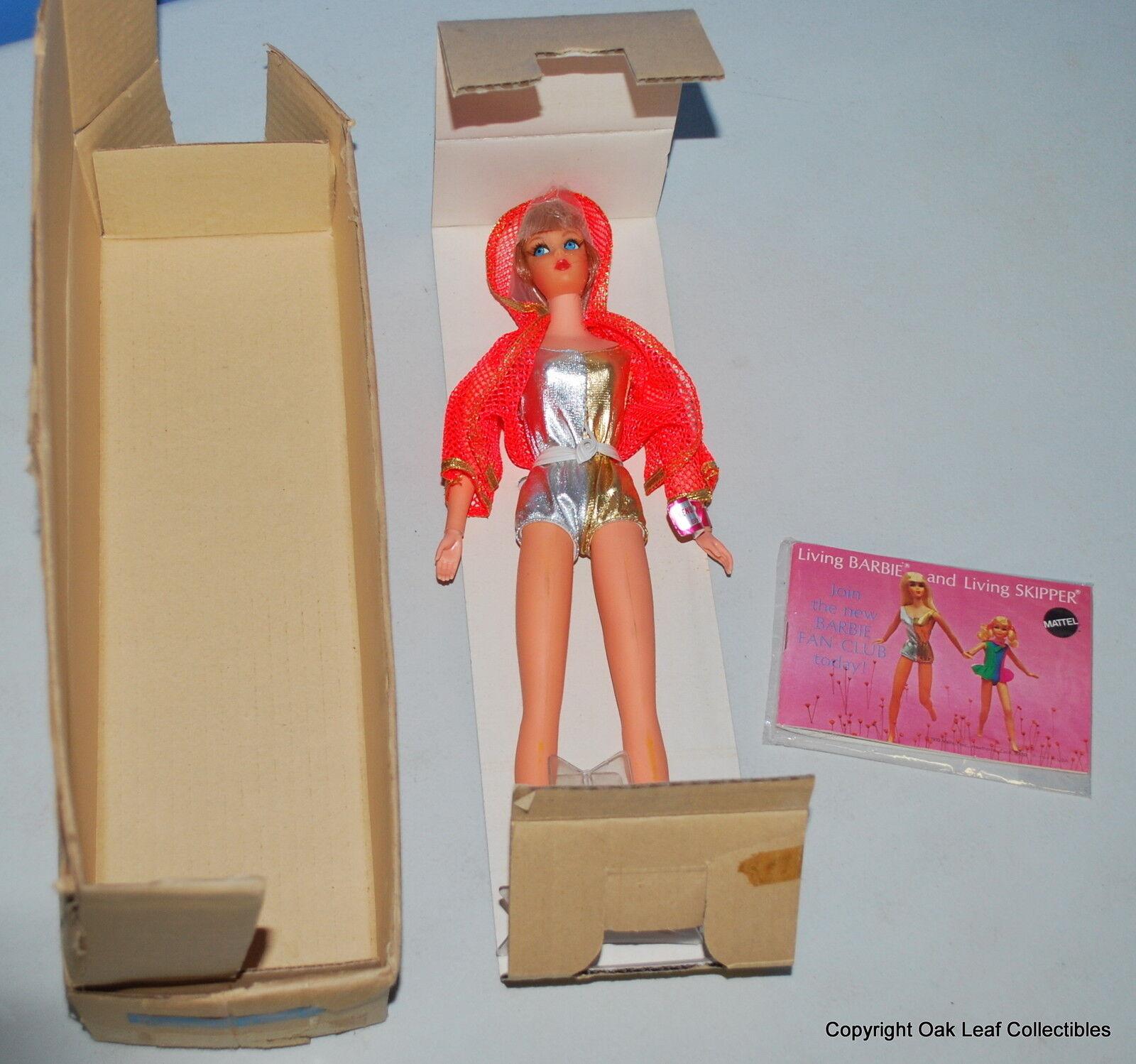 1969 Barbie Dramatic Living rothead Mail Away Box Mint  Original owner RARE