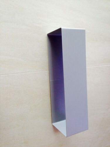 Handtuchhalter selbstklebend Handtücher Metall silber Toilette Hotel Gastro Spa