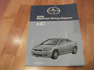 2006 SCION tC Electrical Wiring Diagram Service Manual OEM ...