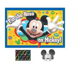 Disney Mickey Mouse Poster 8 Player Party Game Set