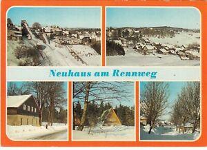 Neuhaus-am-Rennweg-Ansichtskarte-1984-gelaufen