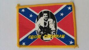 Eddie-Cochran-rockabilly-artist-rebel-vintage-music-patch-Sew-On-aufnaher
