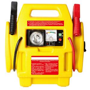 Avviatore-di-Emergenza-Auto-Jump-Starter-12V-Compressore-300-PSI-Luce-Emergenza