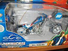 Toy 1:18 Orange County Choppers Miller Welder Bike Diecast Motorcycle