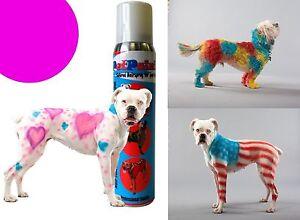 La Foto Se Está Cargando Pet Paint Dog Animal Safe Temporary Hairspray Hair