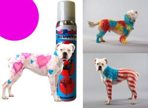 Pet Paint Dog Animal Safe Temporary Hairspray Hair Color Spray Can ...
