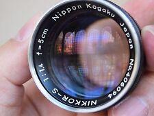 Mint Nikon RF 50mm F1.4 Lens for S3 S2 Olympus EM1 Sony A7 A7R II fujifilm Xpro1