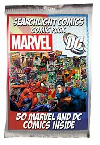 1-box-Lot-of-50-comics-Marvel-DC-ONLY-NO-duplication-Superman-Batman-Spider-man