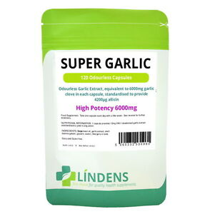 Super-High-Strength-Garlic-6000mg-120-capsules-Odourless-oil-softgels-Strong