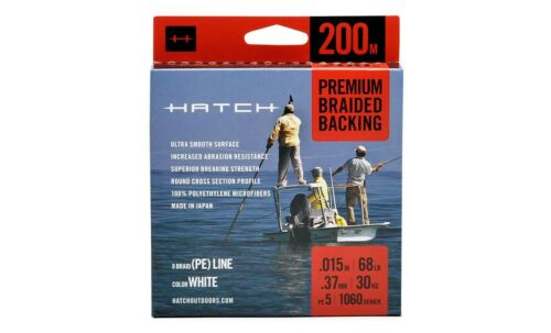 Streams of Dreams Fly Shop Hatch Premium Braided Fly Line Backing