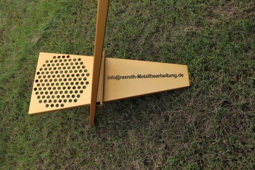 Industrial Design Outdoor STECKSTUHL Camping Aluminium Garten LOFT Stuhl
