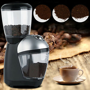 Image Is Loading Electric Automatic Coffee Bean Espresso Mill Grinder Maker