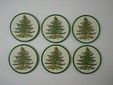 Pimpernel 6 Untersetzer Kork SPODE CHRISTMAS TREE rund
