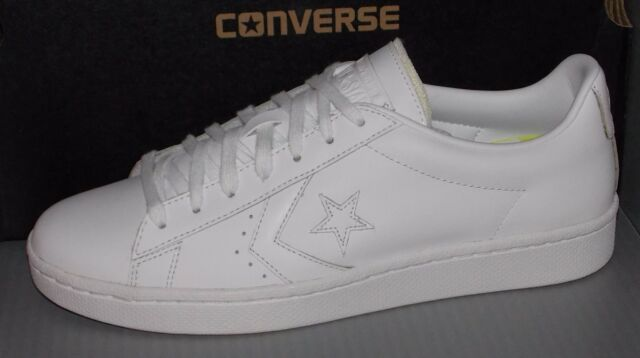 ca2aa7b48e1 Converse Pro Leather 76 Ox Men s White 155319c 8 for sale online