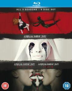 American Horror Story Season 1-3 BLU-RAY *NEW & SEALED FAST UK DISPATCH* 5039036064248