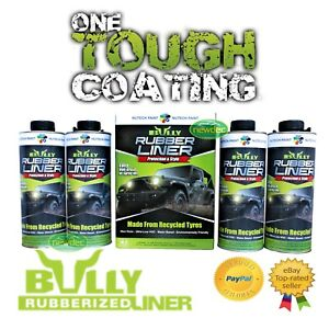 BULLY-LINER-DURABLE-PAINT-UNDERBODY-TRAILER-TRACTORS-4WD-UTE-SIMILAR-TO-RAPTOR