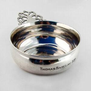 Towle Porringer Baby Bowl Pierced Handle Sterling Silver 1940 Ebay