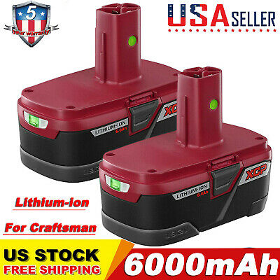 6.0Ah 19.2 Volt PP2030 For Craftsman C3 Lithium-Ion XCP Battery 11375 130279005