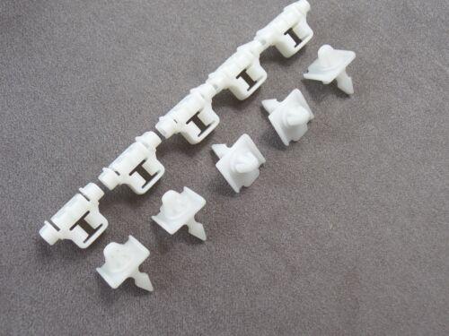 10 parti Set parentesi BARRE ornamentali clip Beplankung per MERCEDES w124 s124 w201