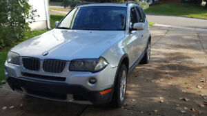 BMW X3.......AWD... LOW MILEAGE SUV...looks and drives like new.