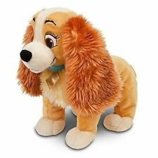 """NWT Disney Store Lady Plush Lady and the Tramp Medium 14"""" H Doll toy"""