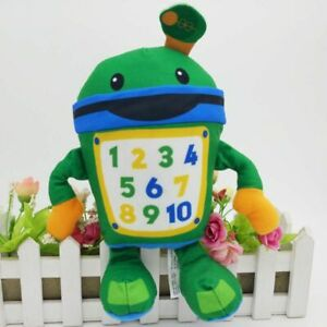 Nickelodeon-Team-Umizoomi-Bot-9-034-Plush-Figure-Doll-Fisher-Price-Kids-Toy-Gift