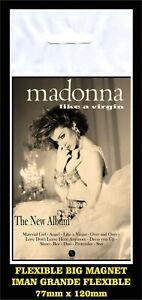 Madonna-Like-a-Virgin-flyer-advertising-iman-Premium-BIG-magnet