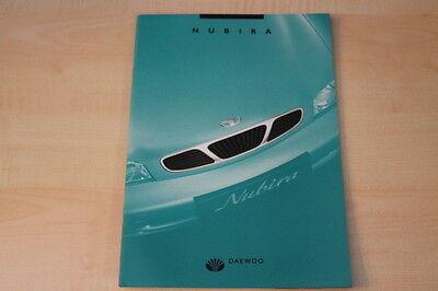 68805) Daewoo Nubira Prospekt 06/1997 ZuverläSsige Leistung