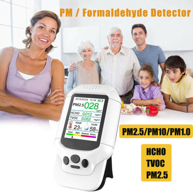 DM502 Multifunctional Air Quality Detector Pollution Tester Multiple Air Sensor