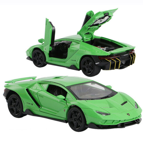 Lamborghini Centenario LP770-4 1:32 Scale Car Model Diecast Toy Vehicle Green