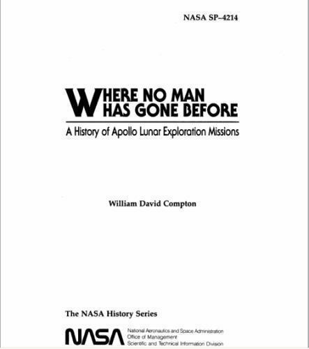 Where No Man Has Gone Before : A History of Apollo Lunar Exploration Missions