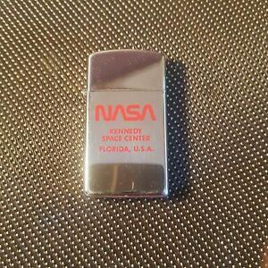 Mechero-Zippo-Nasa-Collect-Rare-limited-edition-Vintage-Lighter-1984-Slim-NOBOX