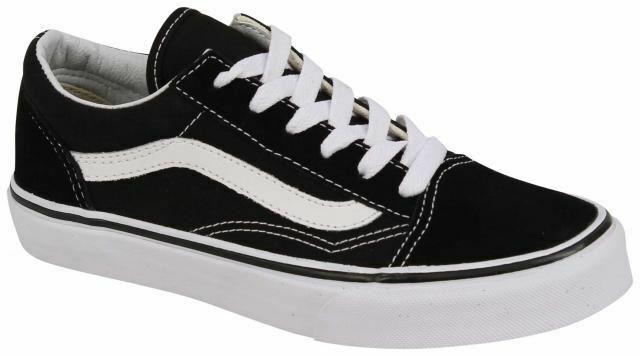 Vans Old Skool Black/White Boy's