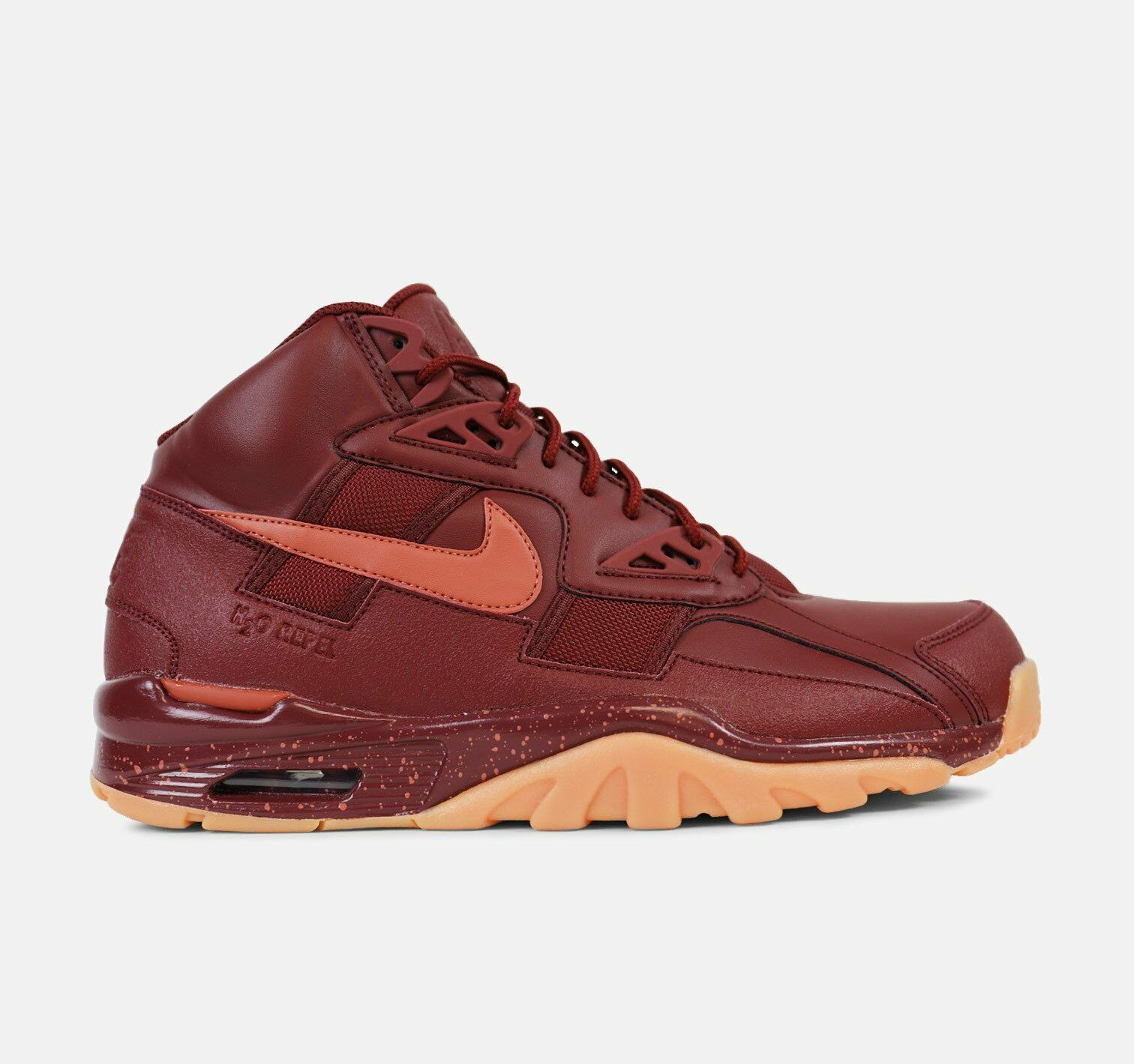 New Nike Men's Air Trainer SC Winter Shoes (AA1120-600)  Dk Team Red/Dusty Peach