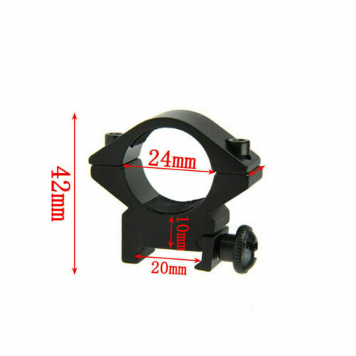 25.4mm//30mm Tactical Rifle Scope Rings Pressure Mount For Weaver Picatinny Rail