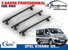 Renault Trafic 05... 9415 3 Dachträger Professional Opel Vivaro 05...