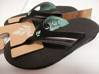 Reef Womens Sandals Slap 3 Black Aqua Size 10