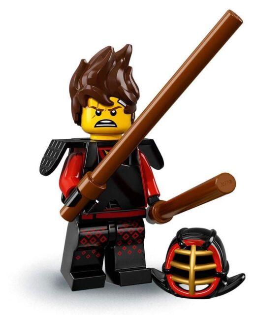 LEGO mini figures NINJAGO Movie Series 71019 KAI KENDO sealed