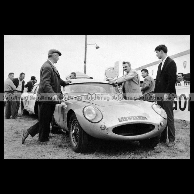 #pha.017489 Photo ACE ACE BRISTOL MAGNE-MARTIN 24 HEURES DU MANS 1962 Car Auto