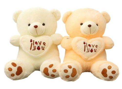Giant Teddy Bear I Love You Stuffed Animal Plush Cuddly Soft Gift