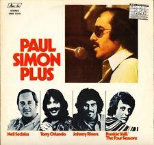 PAUL SIMON PLUS frankie Valli/four seasons/johnny rivers/neil sedaka LP PS EX/EX